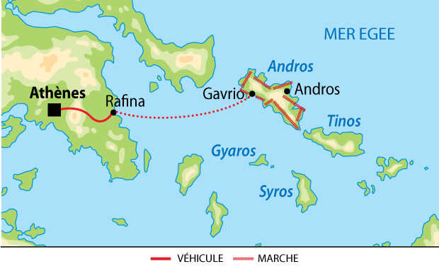 carte Andros