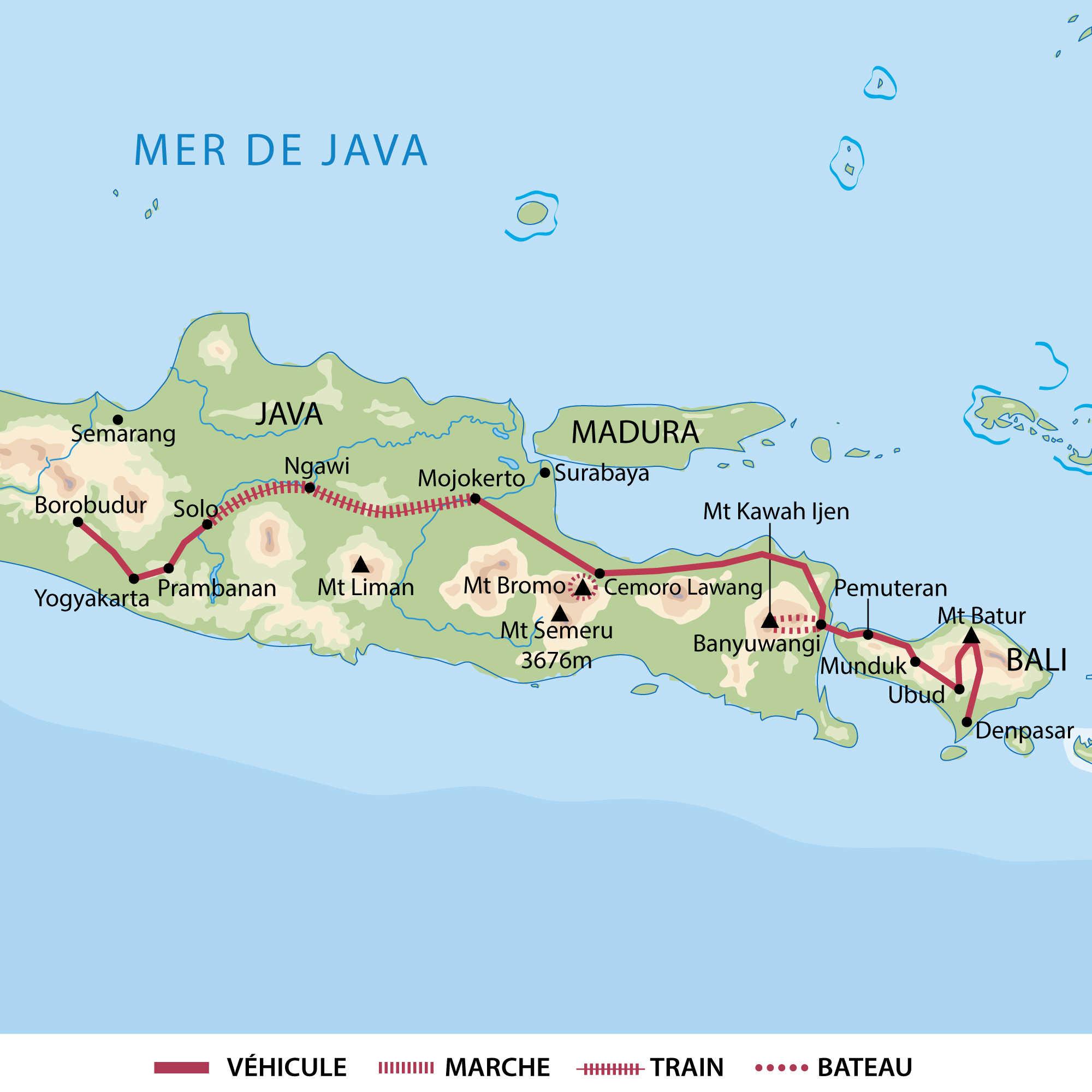 Carte circuit Java Bali - AIJAB15