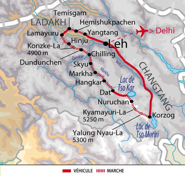 Carte du programme ILADGT