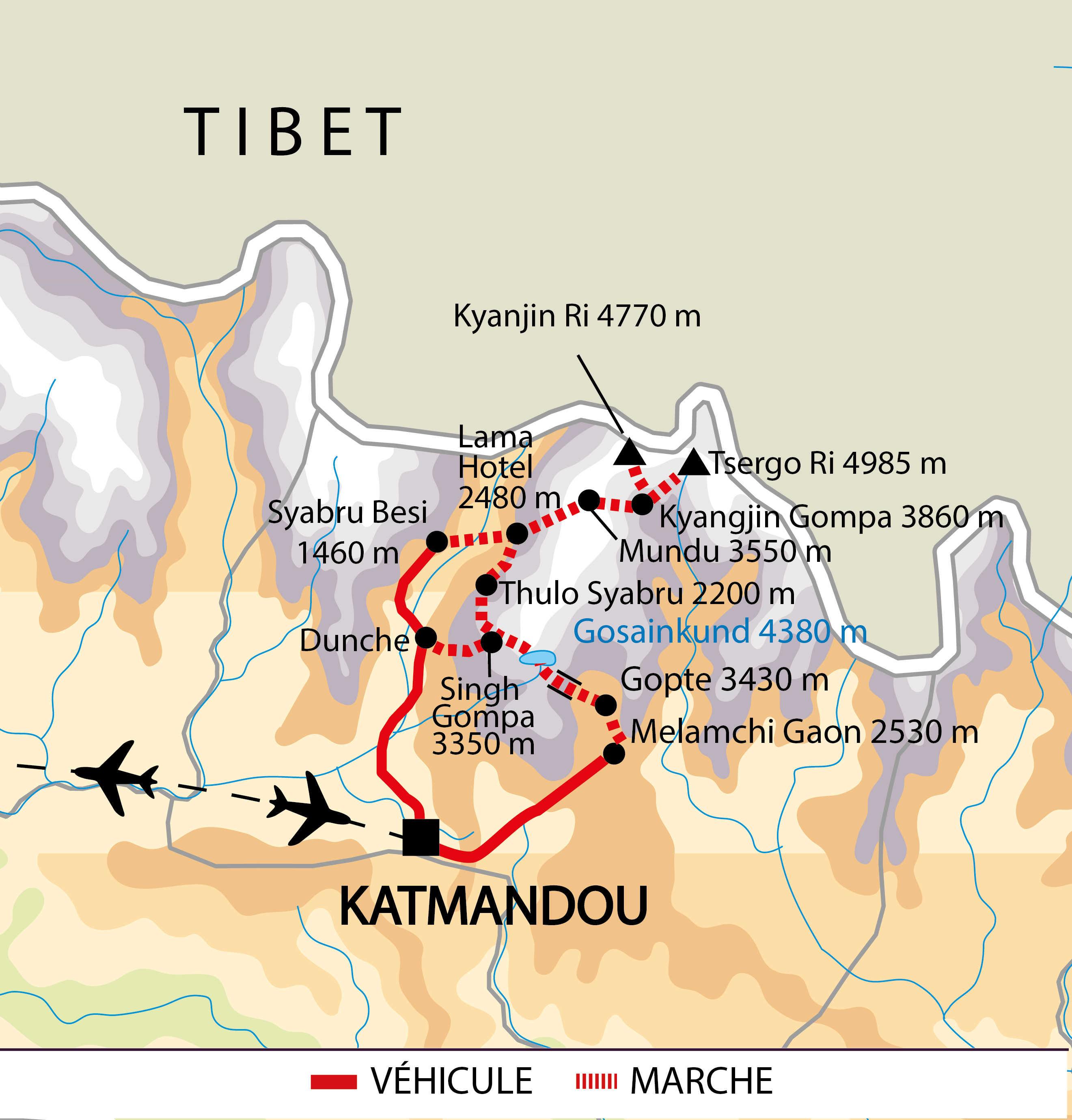 Carte du programme NLAN