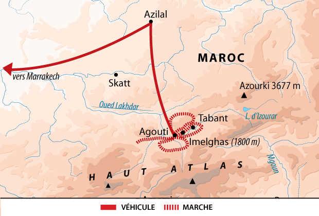 Carte Maroc sur mesure
