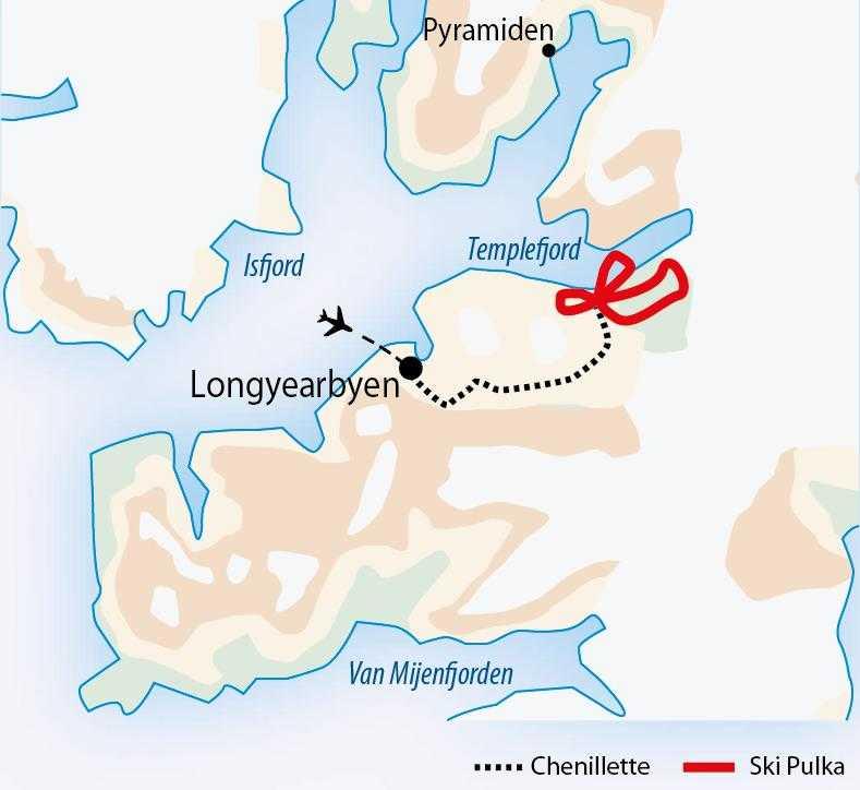 Carte séjour Templefjord