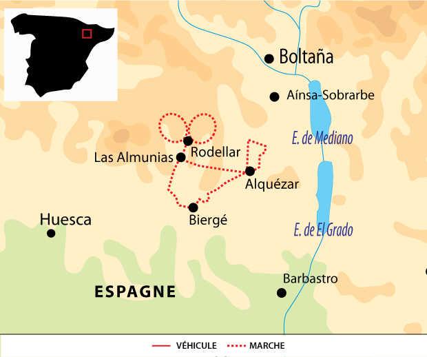 Carte voyage Espagne Liberte