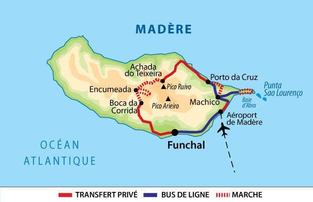 Carte Voyage Madère Liberté
