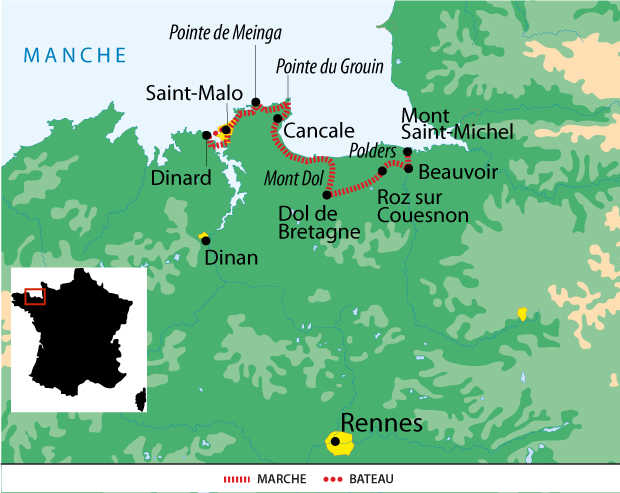 France Bretagne Liberte Mont St Michel St Malo