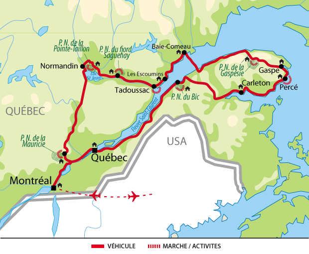 Voyage au Québec