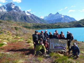 Groupe de voyageurs au Pérou