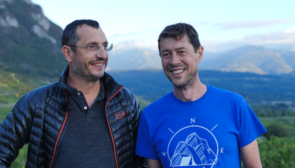 Yannick et Fred, directeurs du réseau Altaï