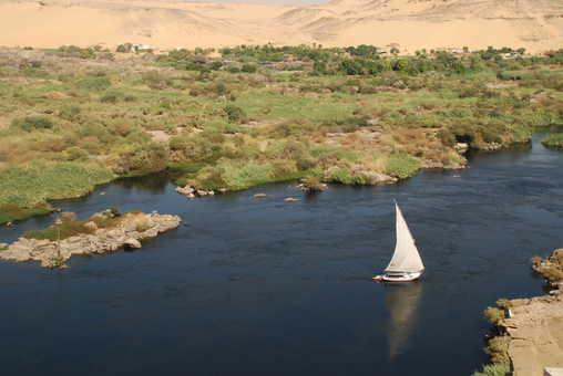 Felouque sur la première cataracte du Nil