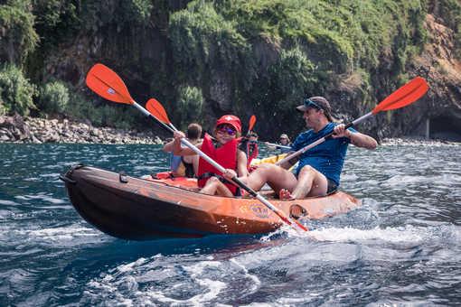 Kayak en famille à Cuba
