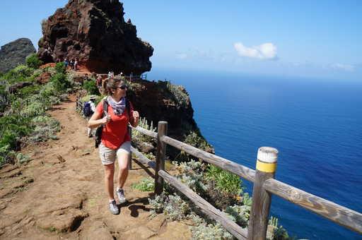 Randonnée côtière à Tenerife