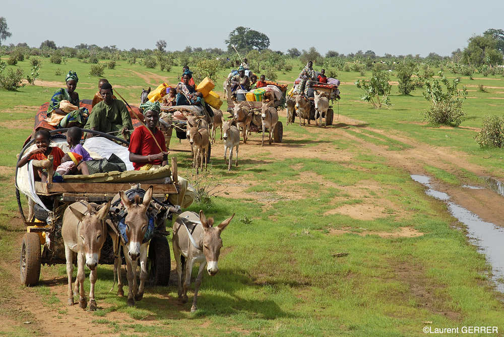 Caravane Peul près de Lompoul au Sénégal