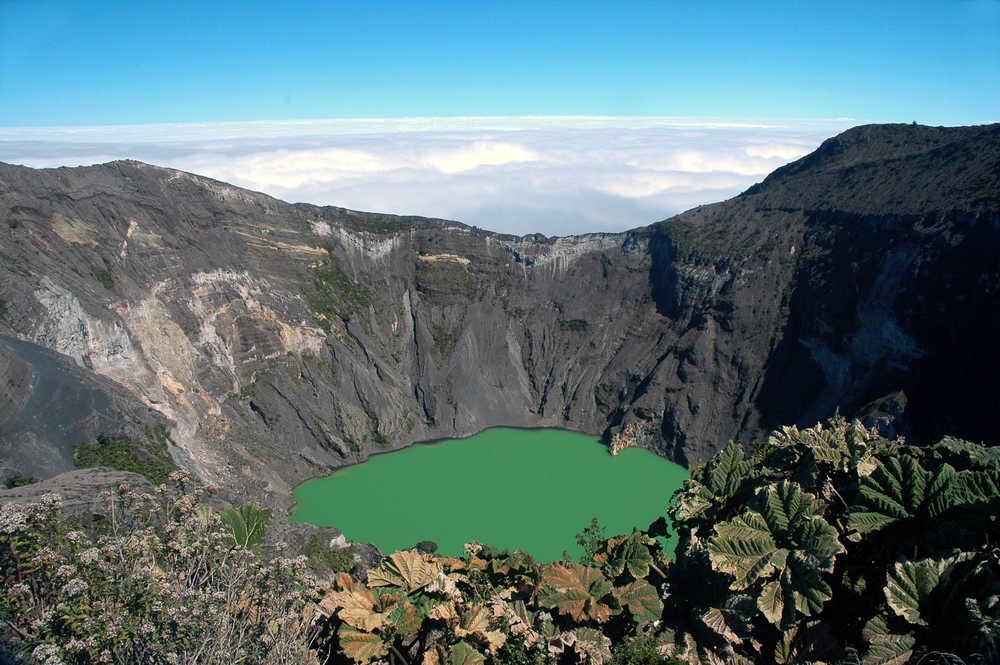 cratère du volcan Irazu