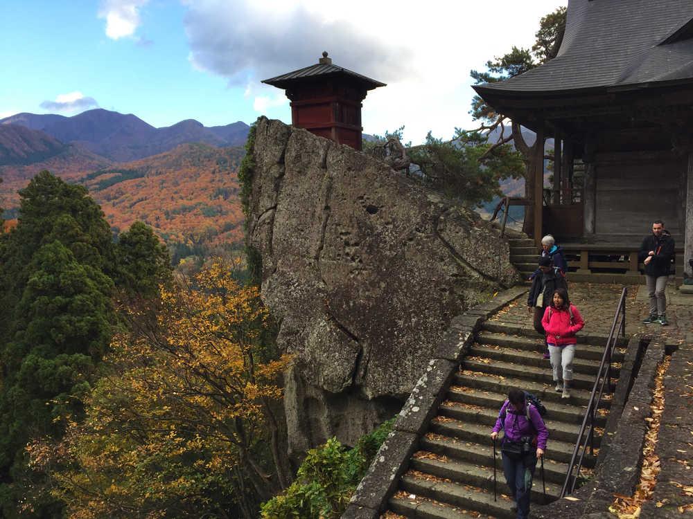 Découverte du temple de Yamadera au Japon