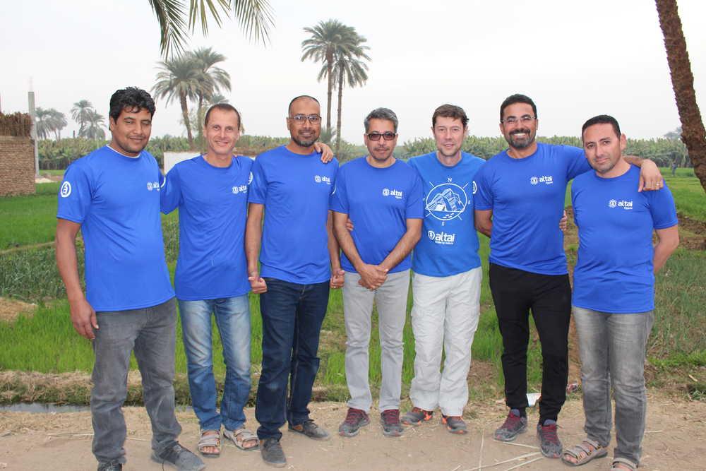 Notre équipe locale Altaï Egypte