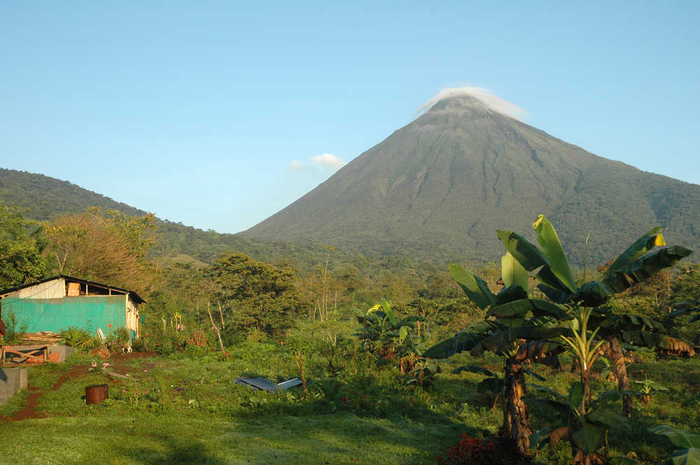 arenal, volcan, costa rica, fortuna