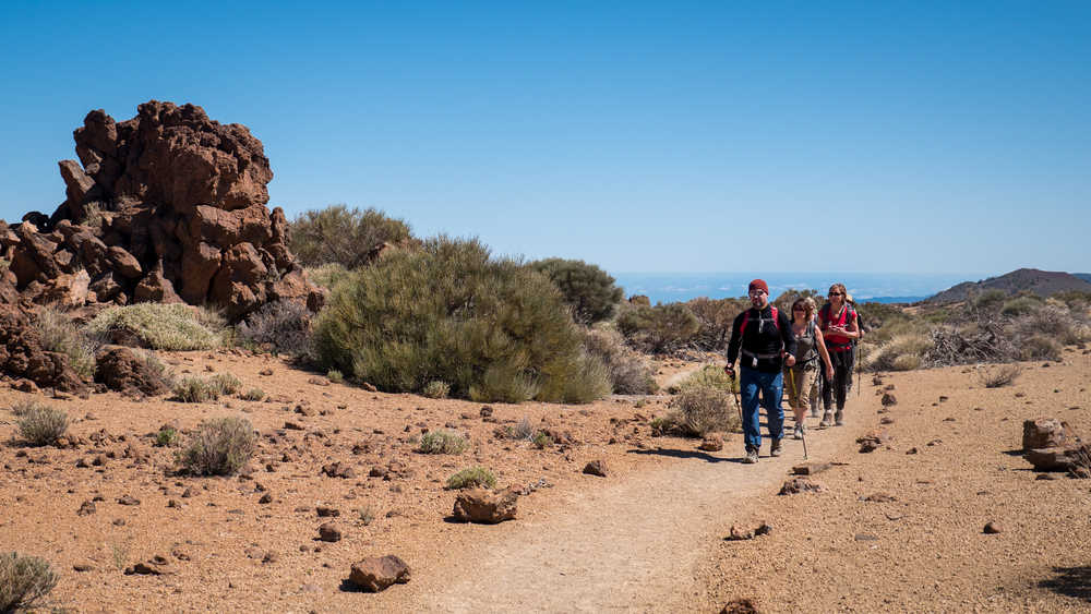Randonnée dans le parc national du Teide, Tenerife