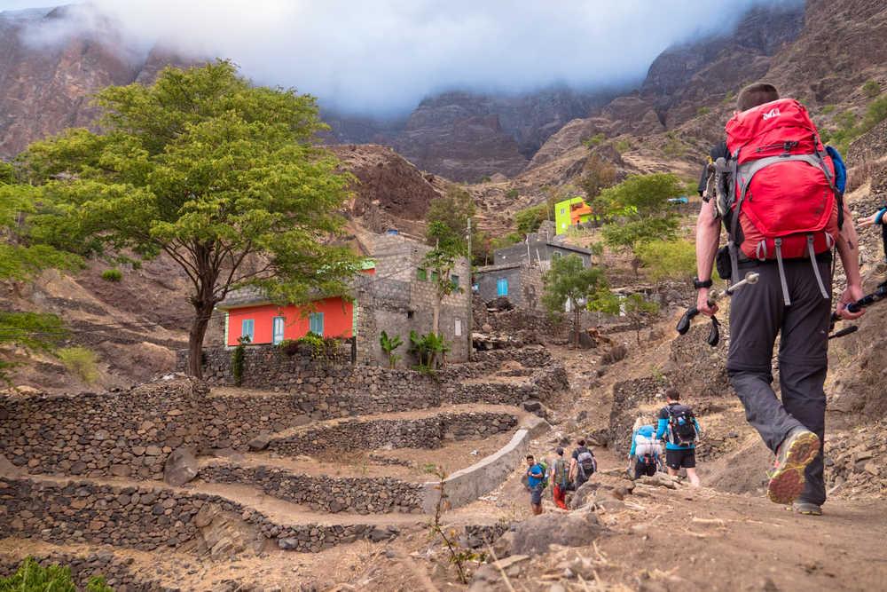 Terrasses et villages de Santo Antao