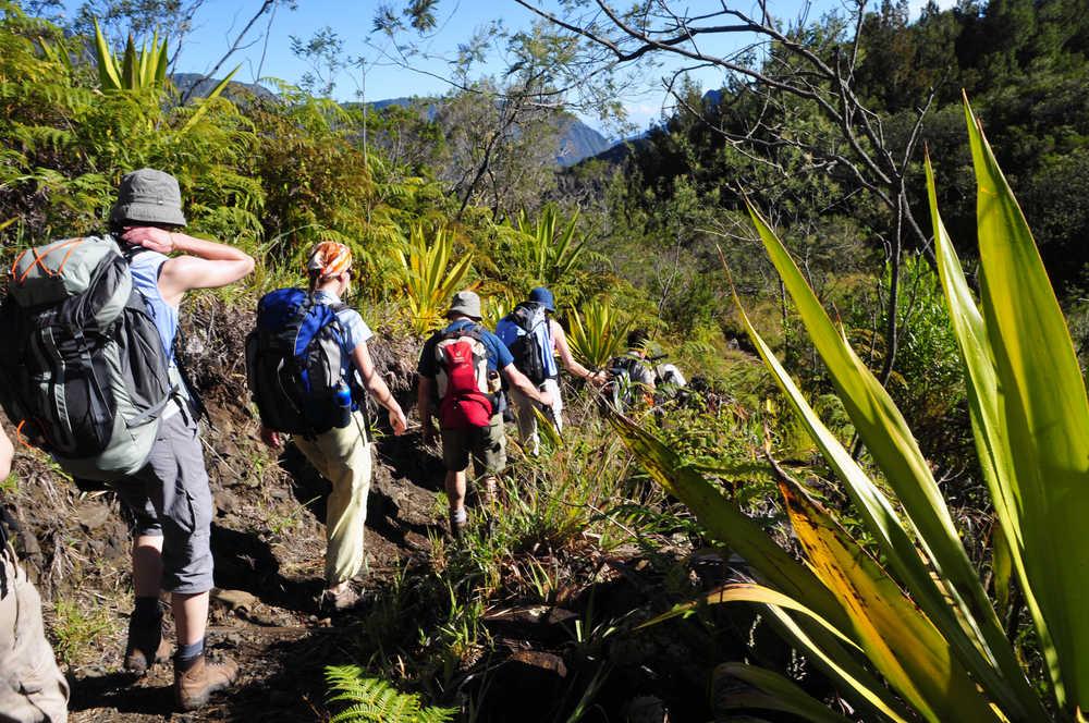 Trek entre Roche Plate et Marla, Mafate, la Réunion