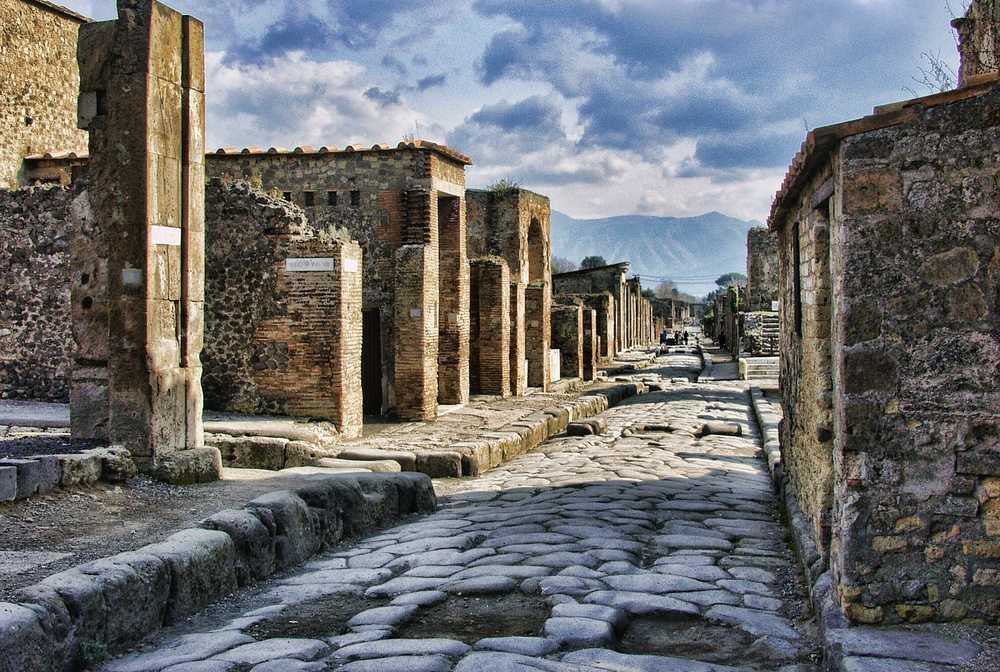 Allées de Pompei