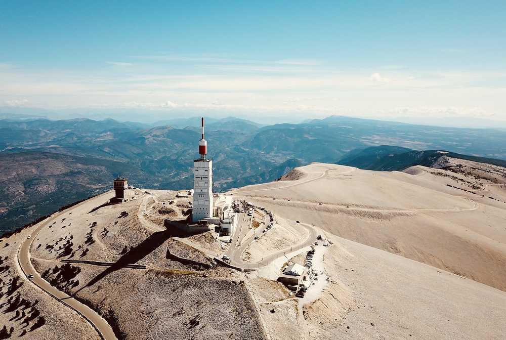 Antenne sur le Mont Ventoux