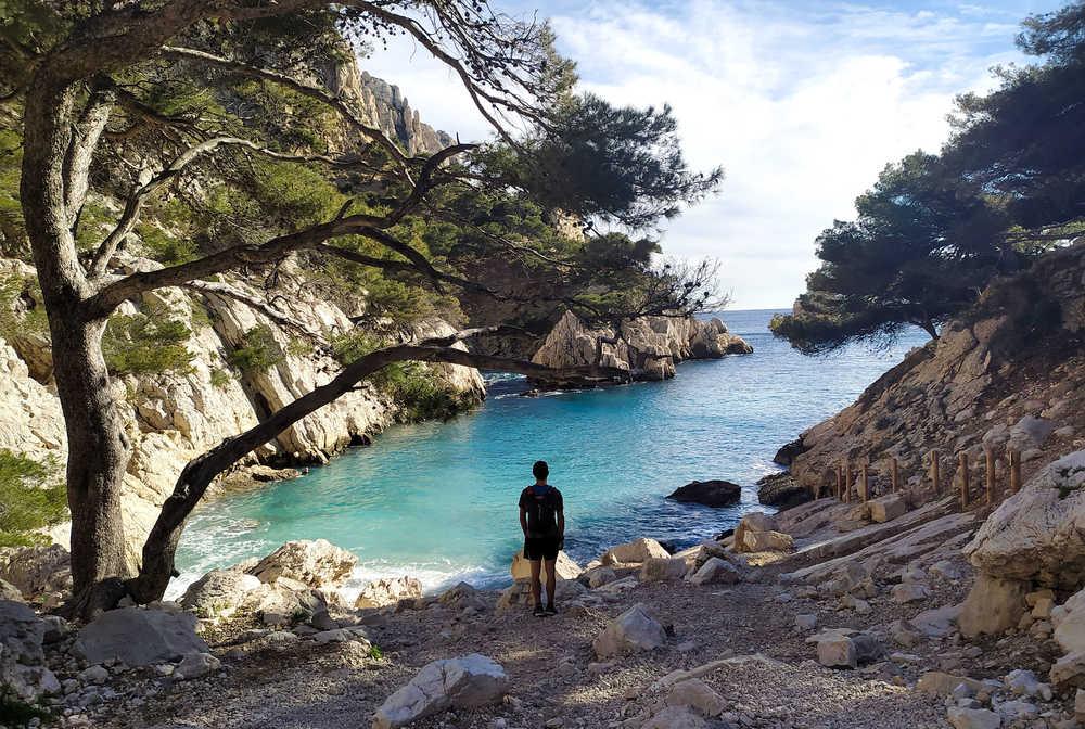 Calanque de Sugiton, Calanques de Marseille