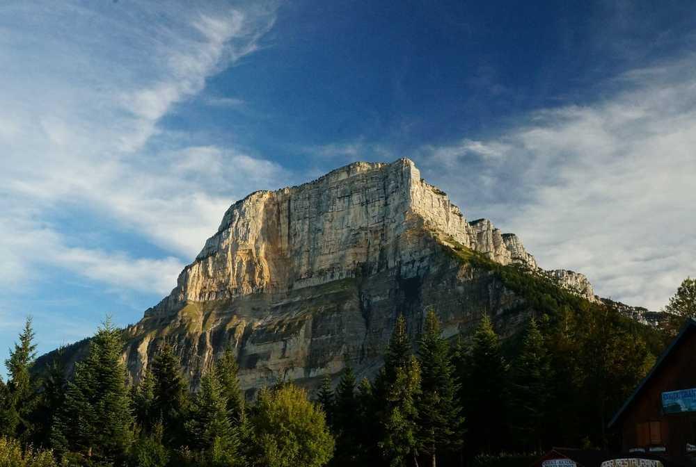 Montagne de la Chartreuse lors de la traversée itinérante
