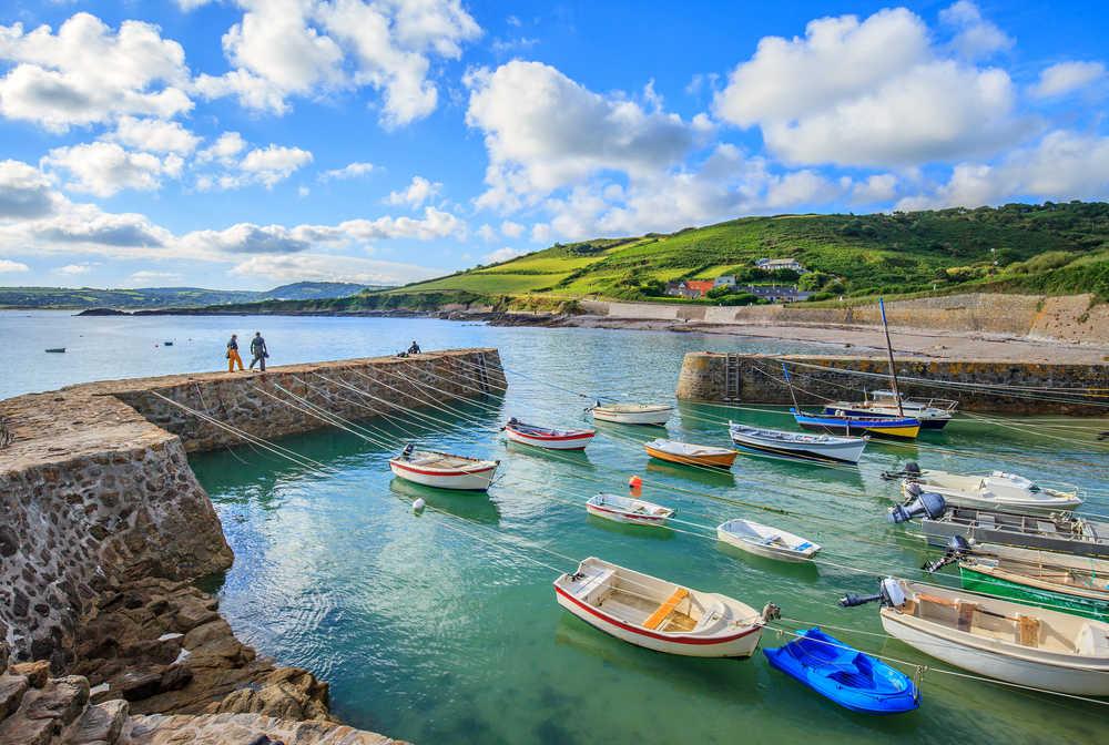 Port Racine dans le Cotentin
