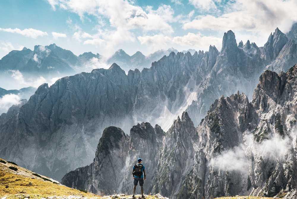 Randonnée dans les Dolomites Cortina