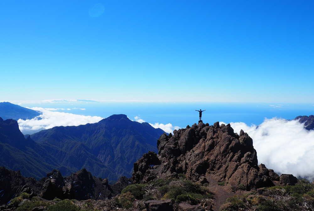 Roque de los muchachos à La Palma