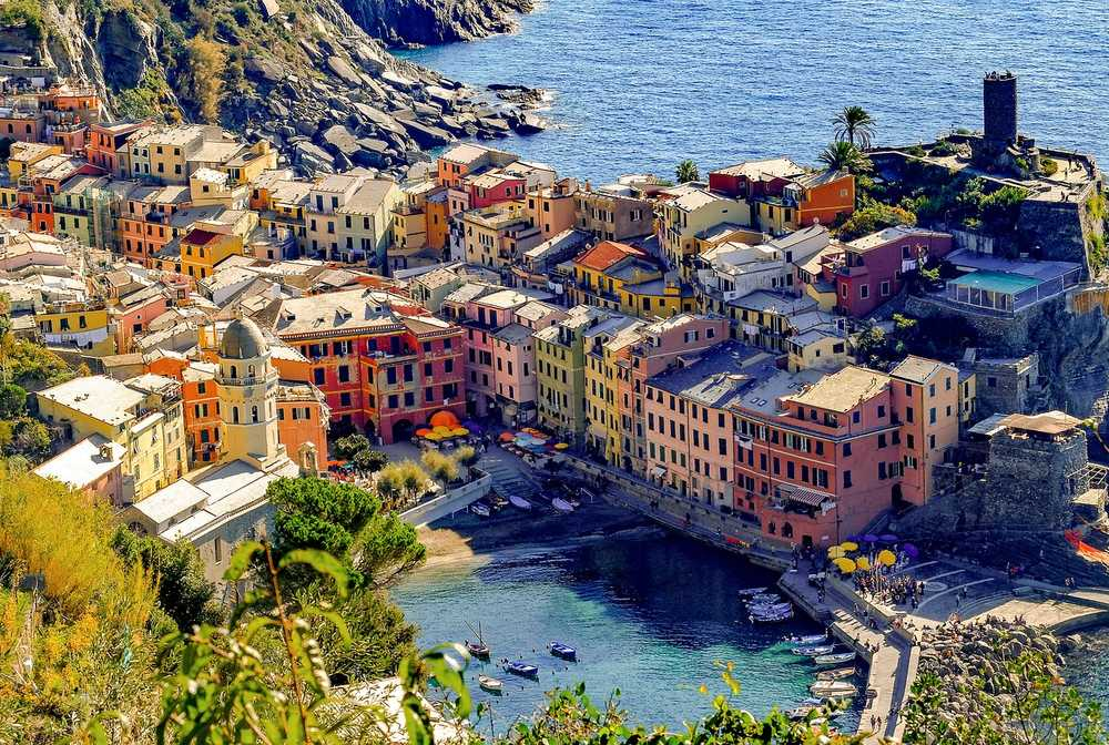 Village de Vernazza dans les Cinque Terre