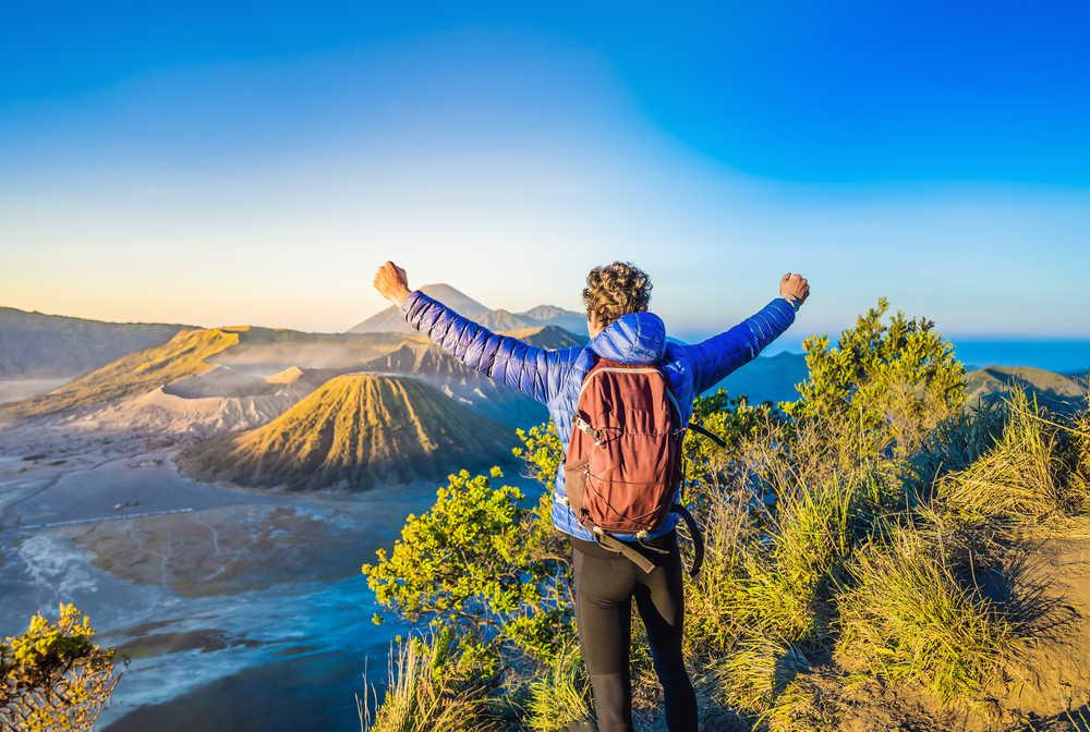 Vue sur le Bromo, Java, Indonésie