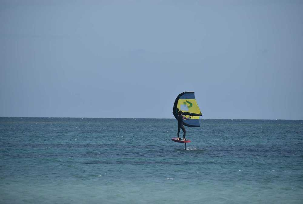 windsurf course session à Limnos avec ION CLUB