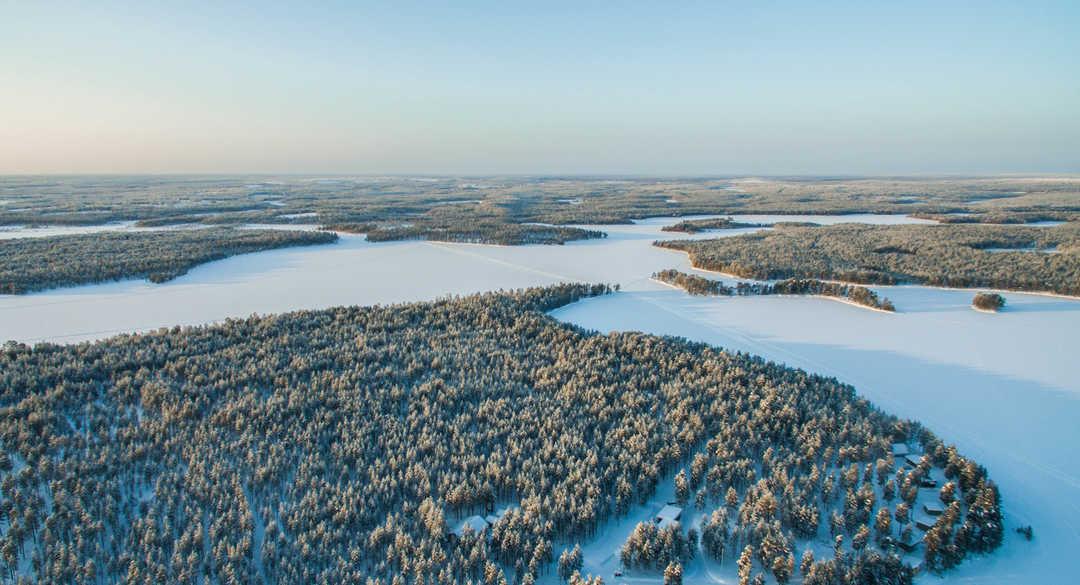 Laponie finlande en hiver