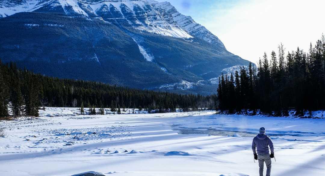 Ouest canadien en hiver