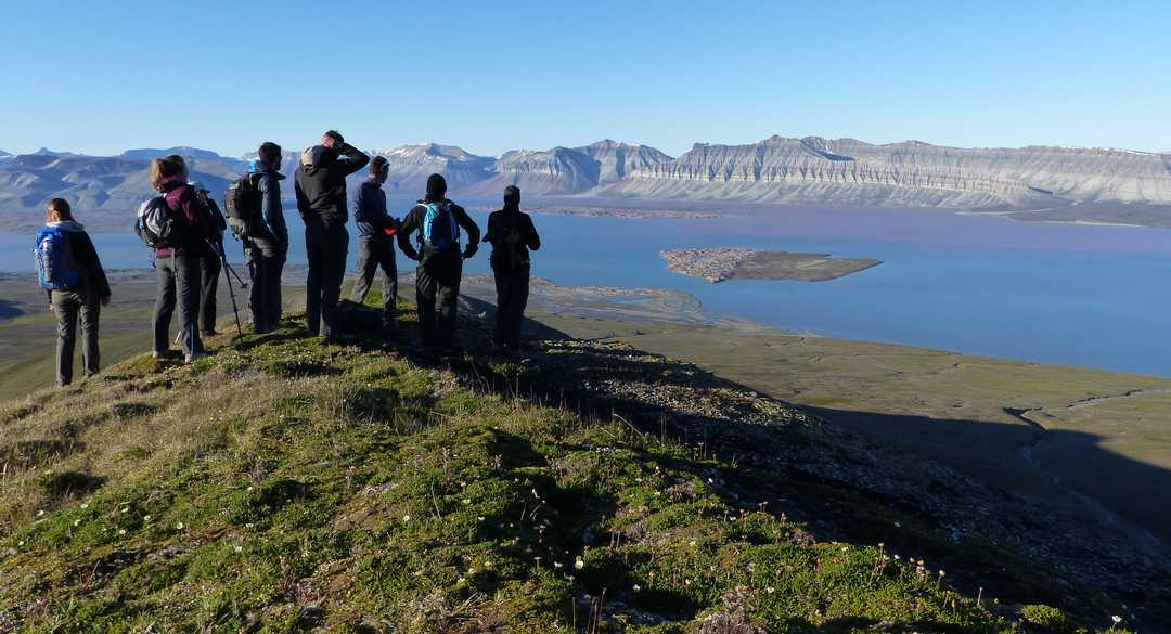 Vacances aventures été au Svalbard