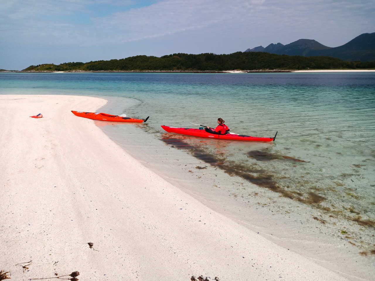 Voyage en kayak d'expédition en Norvège du Nord
