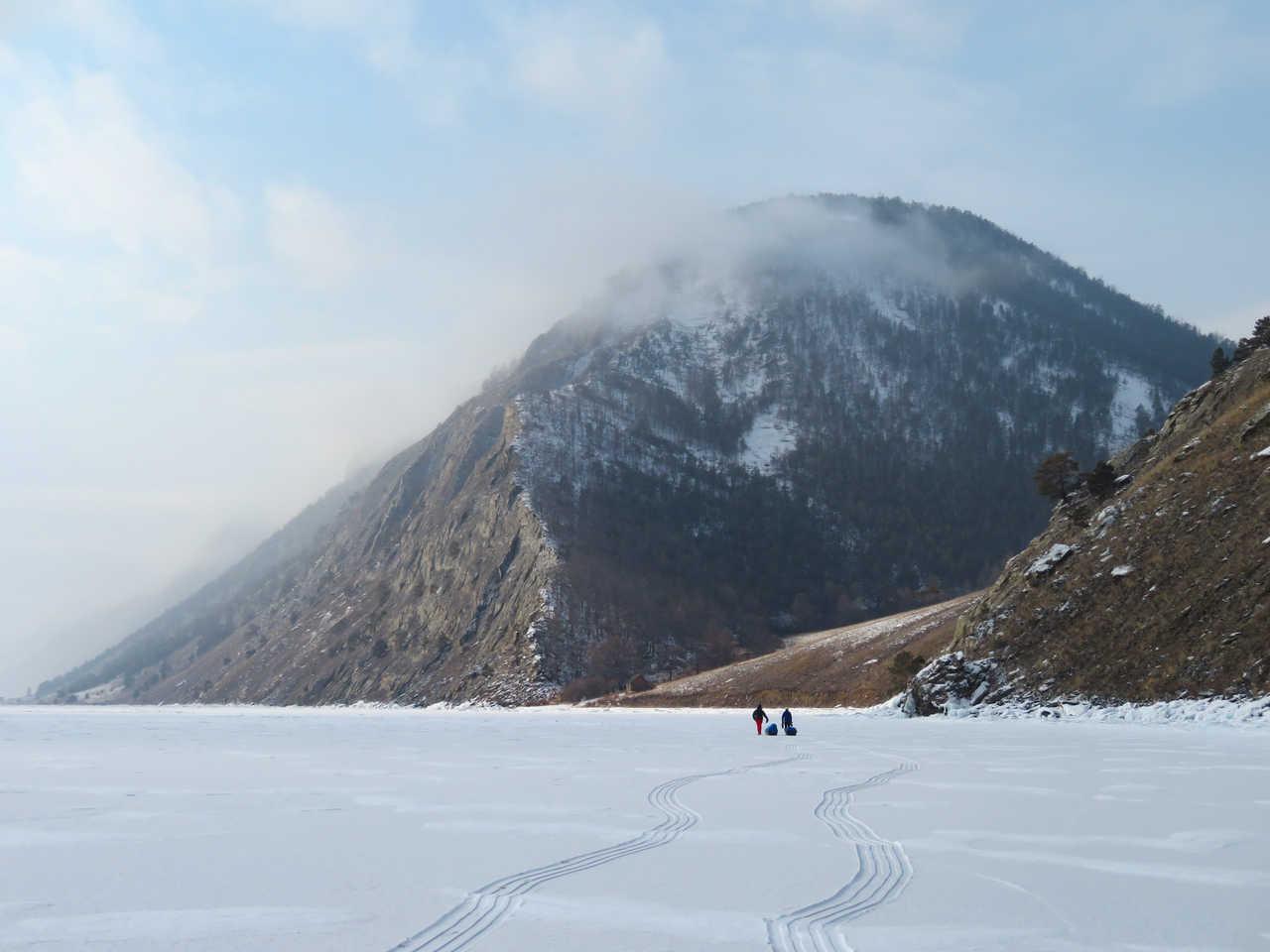 Sur le lac Baikal en Russie