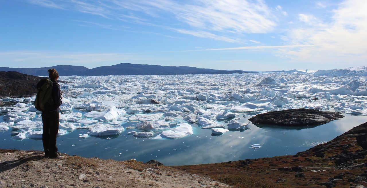 Baie de Disko Groenland été