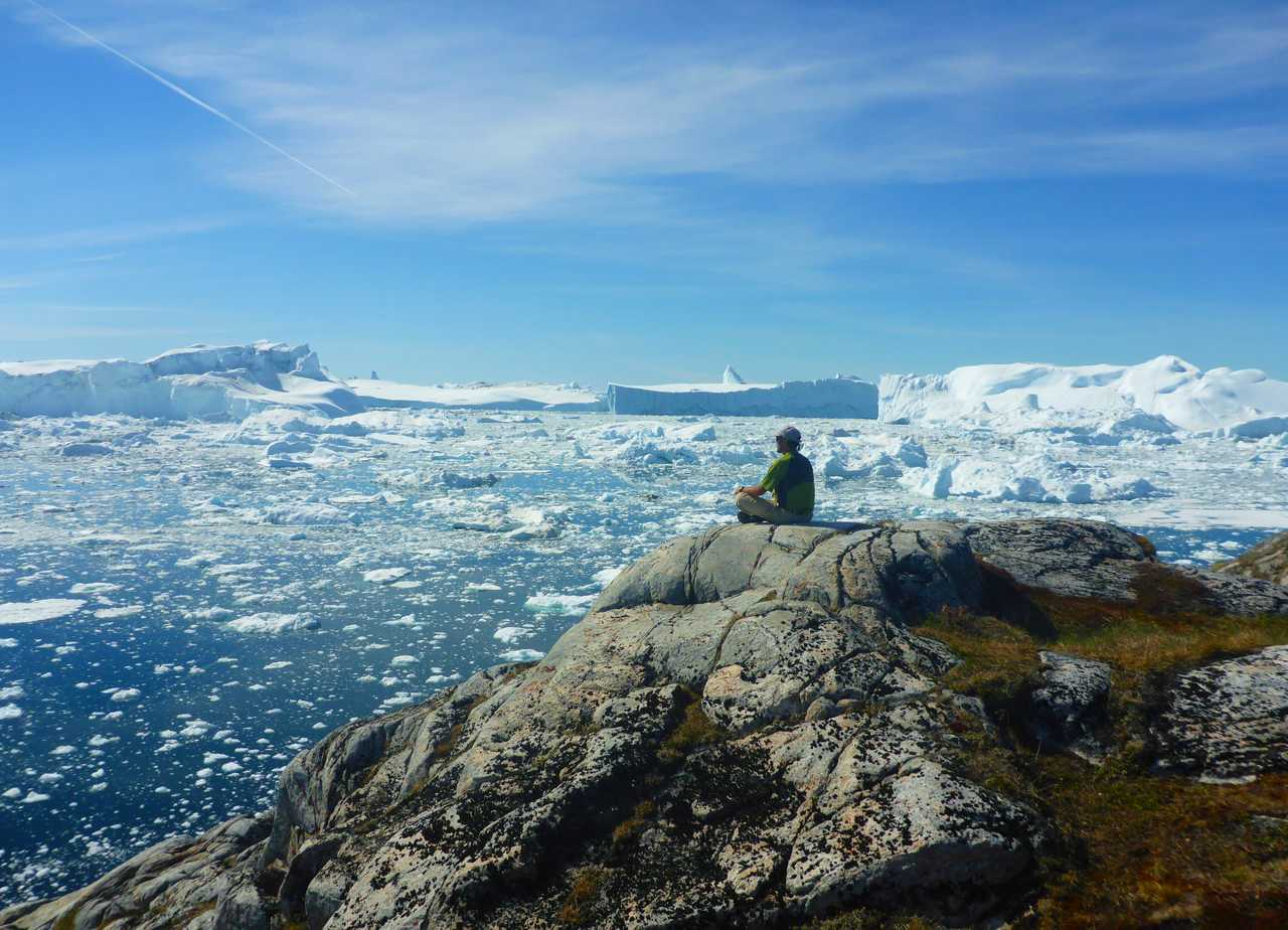Benoit chausson, guide arctique au Groenland