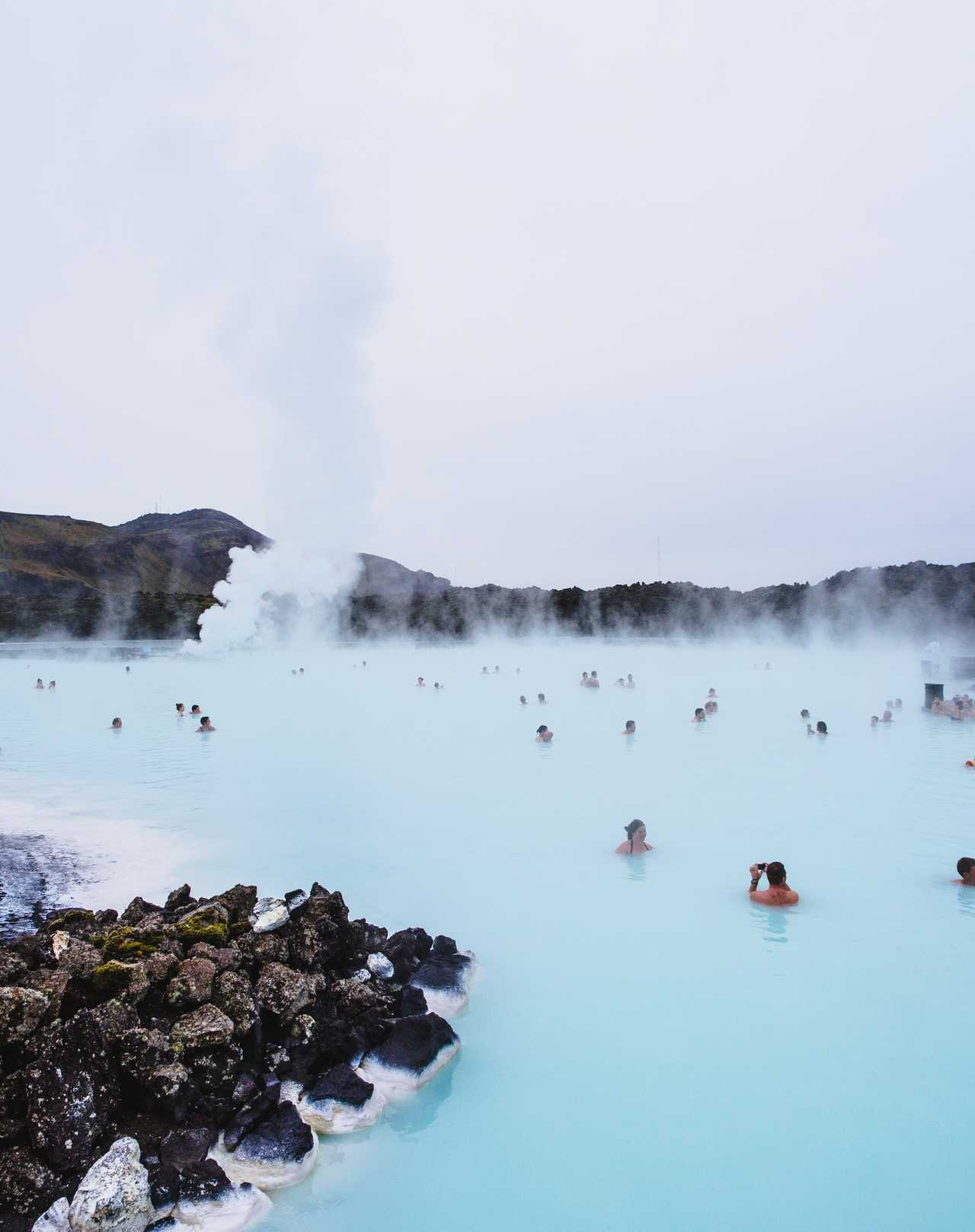 Photo du Blue Lagoon en Islande
