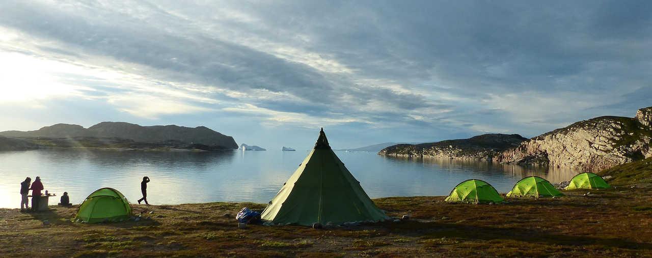 Camping été Groenland