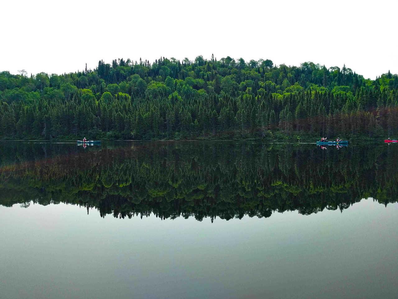 Canoë sur les rivières du Canada, Québec
