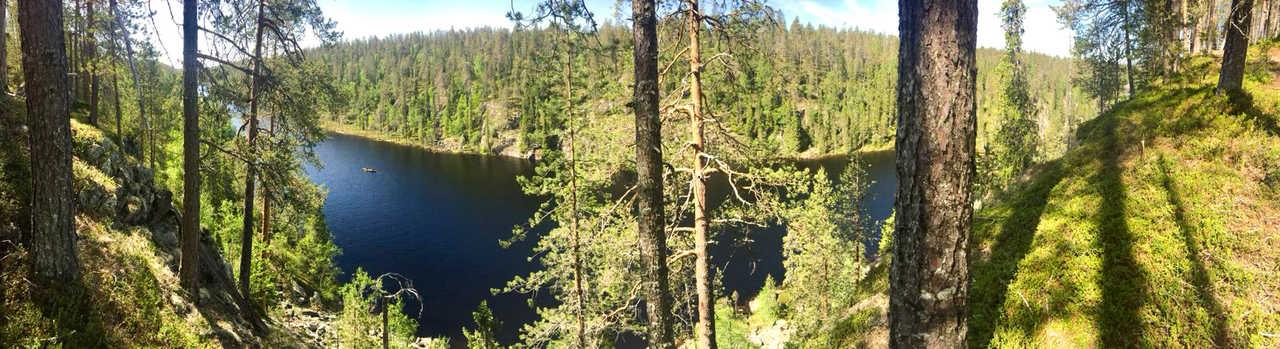 Canyon en Finlande