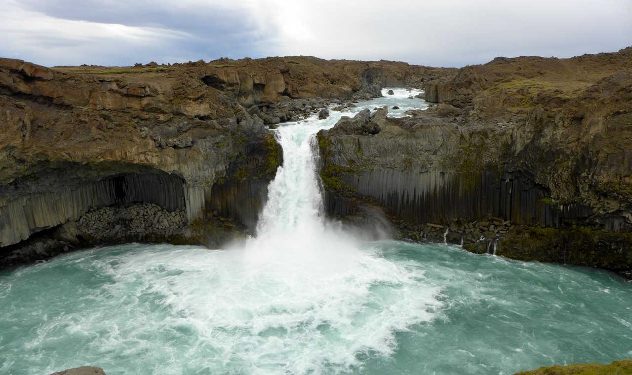 Cascade Aldeyjarfoss Islande