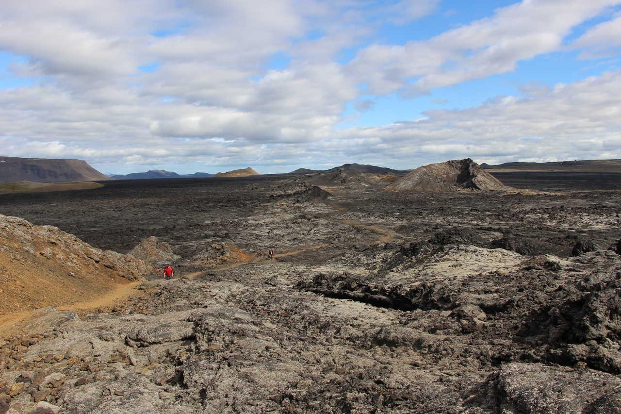 Champs de lave islande