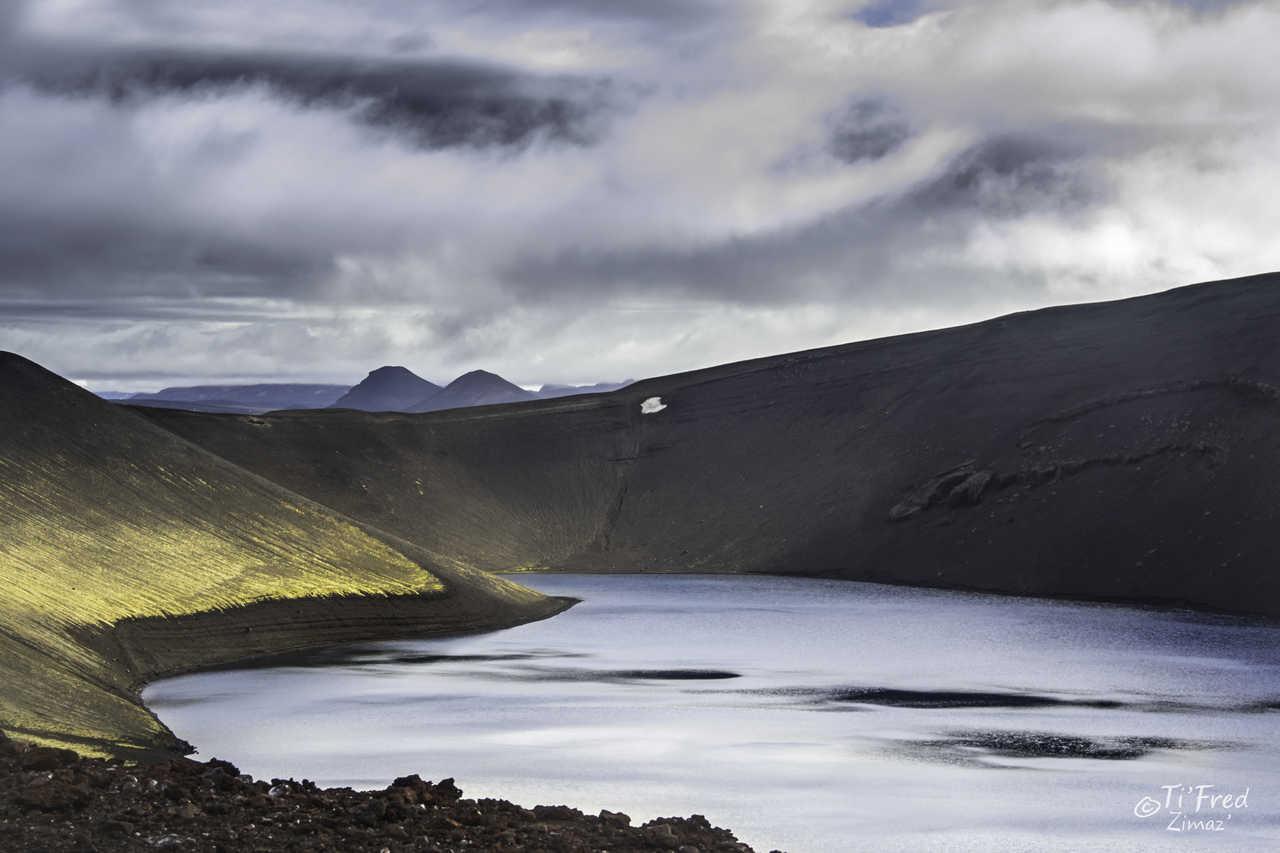 Cratère Viti du volcan Krafla en Islande
