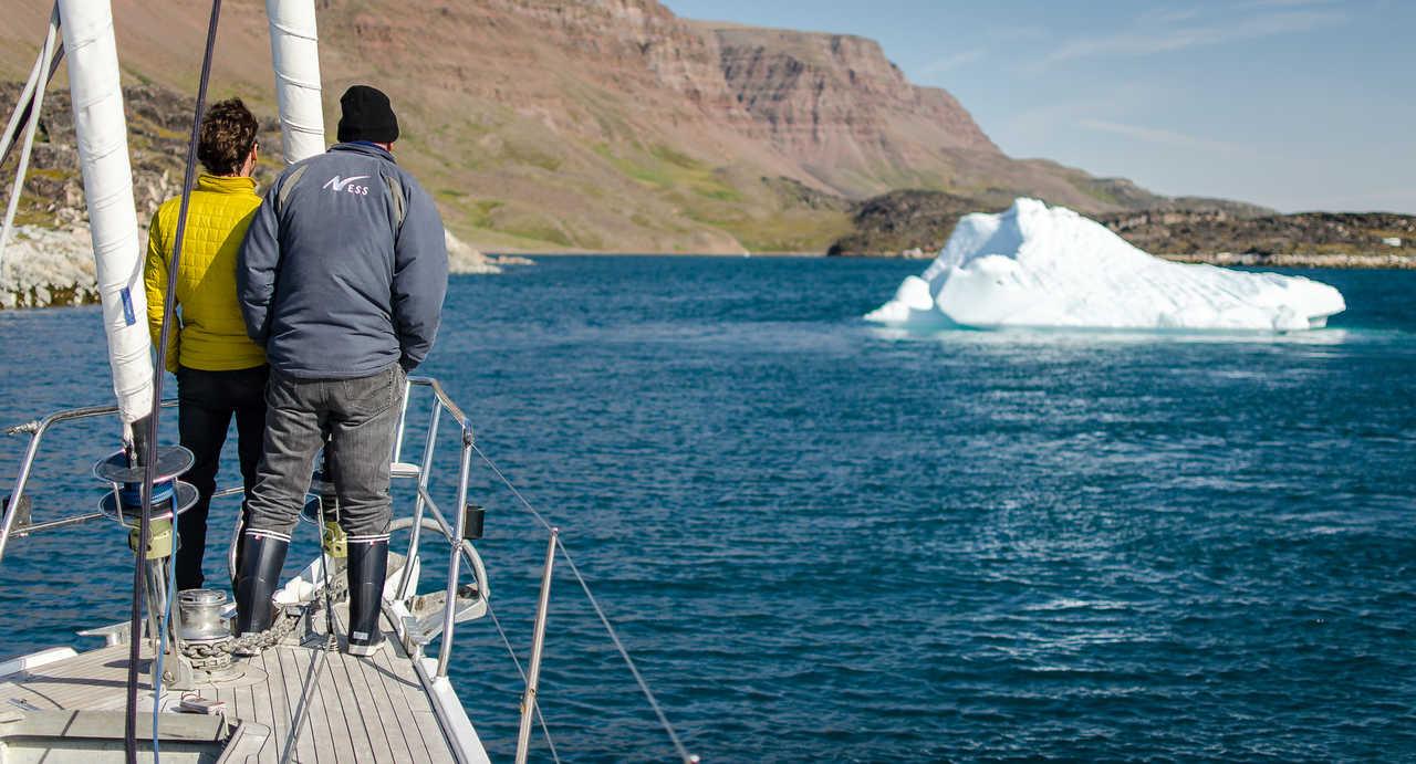 Croisière bateau au Groenland