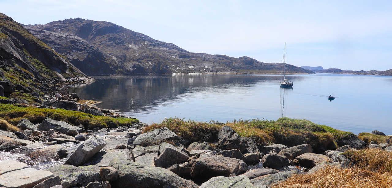 Croisière en voilier en Arctique au Groenland