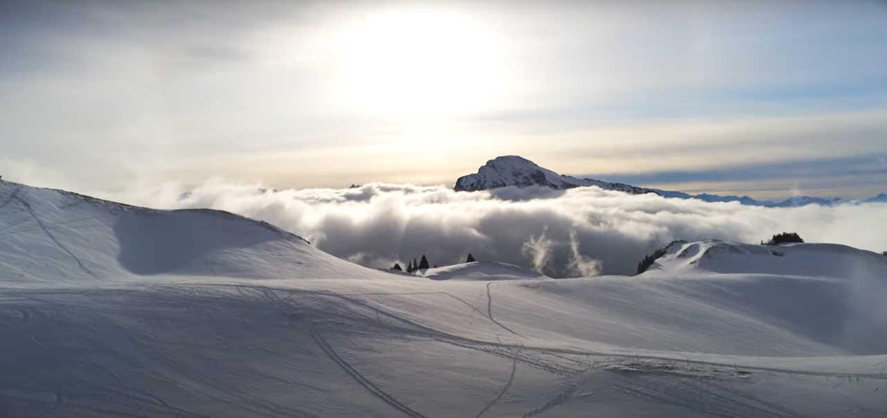 Alpes françaises l'hiver